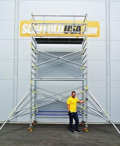 Scaffolds USA Inc. offer high quality aluminium scaffold towers from Alufase, a leading manufacturer chosen by both aircraft and space industry. We have a wide range of scaffold towers for rent and sale. For more information, visit us: http://www.scaffoldusa.com/