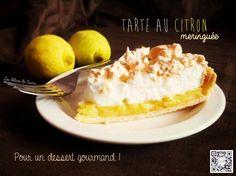 La tarte au citron meringuée... Ce classique de la cuisine française a toujours séduit petits et grands... Le subtil mariage de saveurs (acide et sucré) et de sensations (fondant et croquant) fait de cette tarte un dessert incontournable  : http://www.lesdelicesdenaima.com/2014/10/tarte-au-citron-meringuee.html