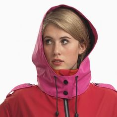 Womens waterproof cloothing; Colourful raincoats, wellington boots and lots more.