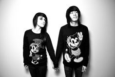Drop Dead Clothing sweaters for couples <3