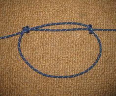 Reverse Sliding Knot for Bracelets