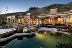 Tucson AZ Real Estate and Tucson Homes for Sale. Dedicated, Honest, Hard Working Tucson Realtor with Expert Local Knowledge. Mansion Homes, Mediterranean Homes Exterior, Million Dollar Homes, Expensive Houses, Pool Houses, Luxury Real Estate, My Dream Home, Dream Homes, Renting A House