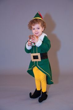 Buddy the Elf costume I made for my son for Christmas card pictures this year.  sc 1 st  Pinterest & Coolest Homemade Buddy the Elf Costume | Pinterest | Halloween ...