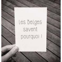 Carte postale Belgicismes une fois