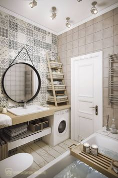 Bathroom Niche: Learn How To Choose And See Ideas With Photos - Home Fashion Trend Bathroom Design Small, Bathroom Layout, Bathroom Interior Design, Bathroom Storage, Apartment Interior, Apartment Design, Apartment Chic, Ideas Baños, Scandinavian Bathroom