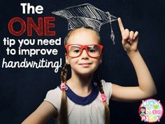 The ONE tip you need to improve student handwriting! Easy to implement idea!