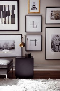 Black And White Home Inspiration Art