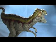 A review of the Schleich World of History  Giganotosaurus dinosaur model by Everything Dinosaur.