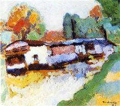 Laundry Barge - Marcel Duchamp
