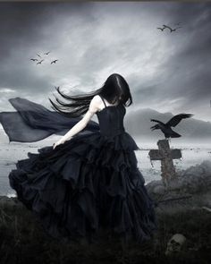 As she stood by her father's cross a raven appeared. Ravens were the kingdom's good luck symbol. She hoped that it was true because with what she was about to do she needed all the luck she could get.