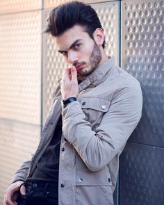 Likes, Comments - محمود العيساوي Handsome Male Models, Youtubers, Raincoat, Boys, Instagram Posts, Cute, Jackets, Fashion, Profile