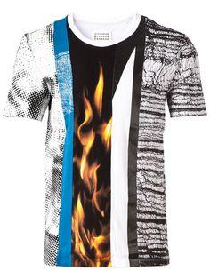 Maison Margiela Camiseta Com Estampa - Francis Ferent - Farfetch.com