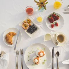 Your morning sets the tone for your day. Start it with a delicious array of fresh fruit, hot pastries and silky smooth poached eggs! Breakfast Options, Poached Eggs, Fresh Fruit, Panna Cotta, Menu, Words, Hotels, Ethnic Recipes, Cape Town