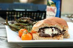 Jalapeño Cream Cheese Stuffed Burgers - Savvy Eats