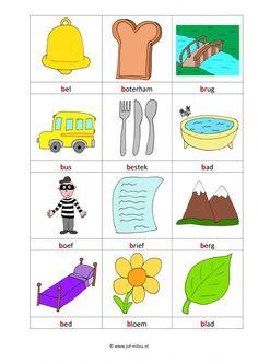 Dit werkblad en nog veel meer in de categorie letters leren kun je downloaden op de website van Juf Milou. Gym Workout Tips, School Posters, Letter B, Primary School, Spelling, Worksheets, Projects To Try, Kids Rugs, Logos