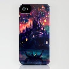 My sister is obsessed with the #lantern #festival scene in the #Disney movie #Tangled. I found this iPhone case on society6.com & emailed it to her. She's probably going to get it. It costs $45.00 USD (including shipping costs to Canada).