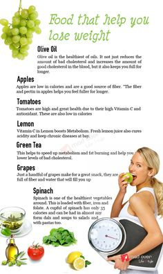 Food that help you lose weight..!!