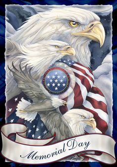 """(artist Jody Bergsma) """"All gave some…Some gave All."""" Memorial Day is the most solemn of all American Holidays. It is the day that we honor all of the American Soldiers ever lost in service of our country. It began as """"Decoration Day"""" after the Civil War. The first observance was on May 5th. 1862...and became a National Holiday in 1971 for Remembering all those who never came home. It is observed on the last Monday in May. For all of those good and loved men and women who gave their lives let…"""