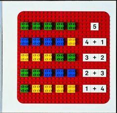 Descomposició de nombres amb lego