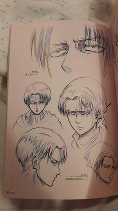 Anime Drawings Sketches, Cool Art Drawings, Anime Sketch, Attack On Titan Fanart, Attack On Titan Levi, Anime Character Drawing, Character Art, M Anime, Arte Sketchbook