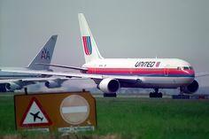 N609UA Boeing 767-222(ET) United Airlines