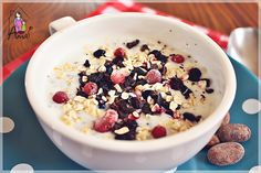 Chia, Acai Bowl, Cereal, Oatmeal, Sweets, Breakfast, Food, Diet, Acai Berry Bowl