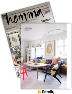 Readly - Rum Hemma - : Page 74 Rum, Shake, Gallery Wall, Inspiration, Shopping, Design, Home Decor, Magazines, Homes
