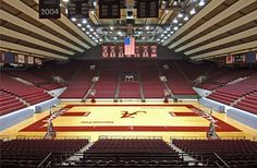 Coleman Coliseum. University of Alabama. Tuscaloosa.