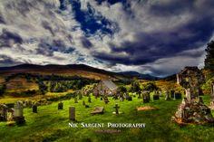 At Peace - Cille Choirill #scotland #highlands #church #AonachMhor