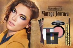 Make Up Factory Memories of a Vintage Journey Fall 2016 Collection