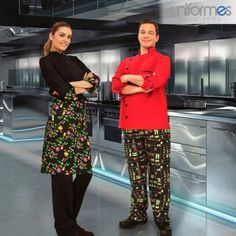 ¡Lunes festivo de buena cocina y mucho estilo! #Uniformes #Restaurantes #Chef #Colombia #UniformesparaTodo www.uniformesparatodo.com