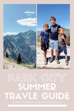 PARK CITY SUMMER TRAVEL GUIDE | Jaime Shrayber | what to do in Park City during the summer 2020 #parkcity #travelguide #summertrip Summer Travel, Travel With Kids, Family Travel, Park City Utah, During The Summer, Travel Guide, Family Trips