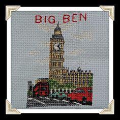 big ben cross stitch