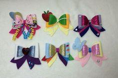 Mane 6 Felt Hair Bow Set Kawaii Cosplay Lolita My Little Pony
