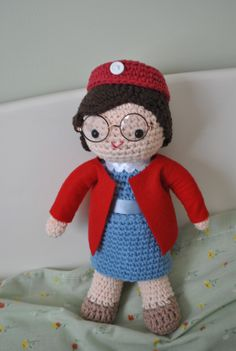Mom!  I need you to make me one of these dolls.  :) April Free Chummy from Call the Midwife crochet pattern