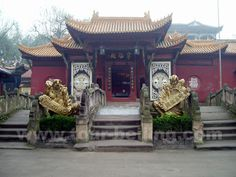Fengdu Ghost City, Fengdu County, Chongqing municipality, China- Visitable