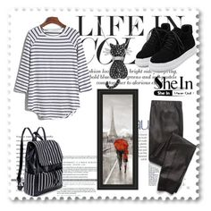 """Shein"" by loveliest-back ❤ liked on Polyvore featuring Splendid and Amanda Rose Collection"