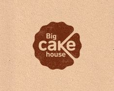 Big Cake House Logo Design Inspiration | #logo #design #inspiration #icon #gallery #logotype #identity #branding