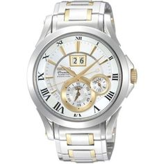 5d43c18bfb03 This Seiko Gents Watch with its subtle gold tone accents is sophisticated  and classy