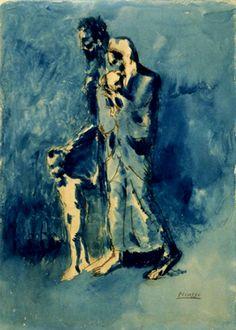 1903-El ciego y su familia