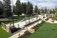 Convic completes Esplanade Youth Plaza in Fremantle Australia | Damian Holmes | World Landscape Architecture
