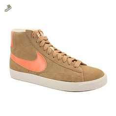 nike womens blazer mid suede VNTG trainers 518171 202 sneakers shoes (uk 3 us 5.5 eu 36) - Nike sneakers for women (*Amazon Partner-Link)