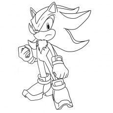 Super Sonic A Colorier Coloriage Coloriage Coloriage Sonic