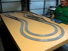 New N-Scale Train Layout From Start to Finish - Part 1