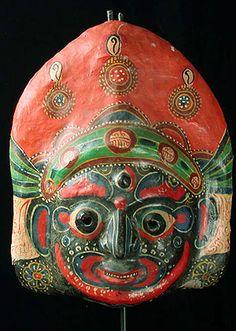 festival mask, Nepal