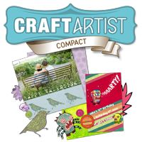 CraftArtist. Free digital scrapbooking software. Click on image to download from Serif's website. I have this, it's great but it takes awhile to really learn it all. But, great software. You might have to download the patch so it stops crashing on you.