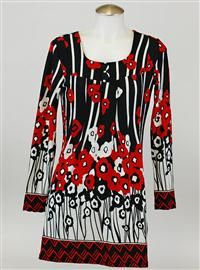 Such a pretty tunic, great on all sizes.  $54.99 www.gretchengreen.shophts.com