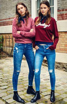 Rebel Girls - Girl Collection Autumn 16  Models: Heloïse Giraud & Laura Bøgesvang  Photo: Enric Galceran