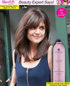 Katie Holmes' Sexy Haircut — Expert Tips How To Style New Bangs