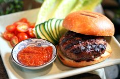 Japanese Burgers With Wasabi Ketchup by The New York Times | Photo: Tony Cenicola/The New York Times